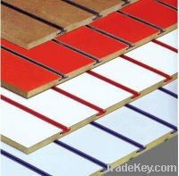 Sell Slot MDF, Slat Wall Board