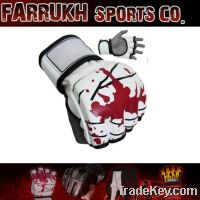 Blood mma gloves