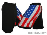 USA Flag mma  Shorts