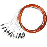 Sell FC Bundle fiber optic pigtail 12 core