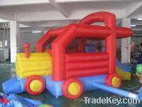 Mini bouncer train for kids