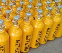 High Quality Portable Acetylene Gas Cylinder Price Seamless Steel 2L Acetylene Cylinder