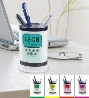 Sell digital clock pen holder
