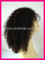Sell JinDe instock indian remy hair full lace wig