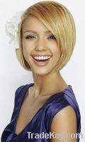 Sell short human hair full lace wig