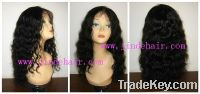 Sell human hair lace front wigs