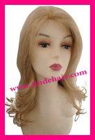 blonde virgin hair full lace wig