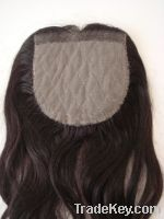 Supply silk base lace front hairpiece