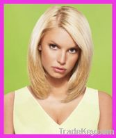 Sell blonde straight hair wigs