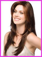 Sell brown swiss lace wig