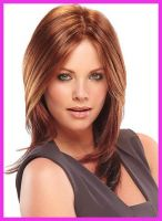 Sell brown straight lace wig