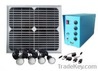 Sell Portable Home Solar Lighting Power System for Remote Lighting