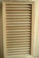 Sell wood shutter door