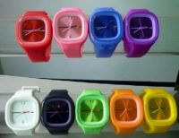 Sell silicone watch