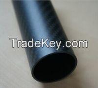 Sell semi-gloosy carbon fiber tube