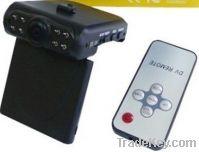 Sell Car DVR, SR186, 2.5-inch TFTscreen, 8 IR LED, wide angle 120 degree