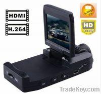 HD1080P 140 degree lens with 180 degree rotatinging Car recorder K2000