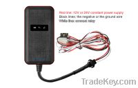 S116Waterproof GSM Quad Band Double CPU With Voltage Input gps tracker