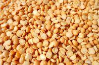 yellow peas polished