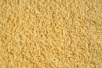 yellow polished millet