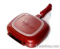 GOLD DIA DOUBLE PAN(DOUBLE SIDED PAN) TWIN PAN DOUBLE PAN
