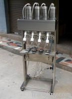drink fill machines, 4-head filling machine, water fill machine