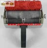 Rubber paint roller