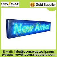Sell CE approved led screen advertising with blue color and programmable