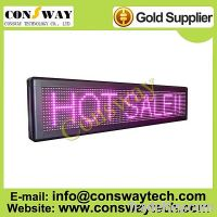 Sell CE approved led display advertising with pink color