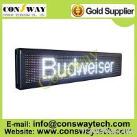 Sell CE approved led scrolling message board with white color