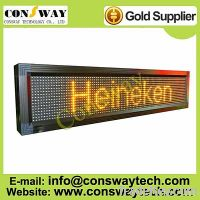 Sell CE approved programmmable led display with yellow color