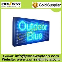 Sell CE approved outdoor programmable led signs with blue color