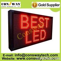 Sell CE approved led moving message display with red color