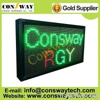 Sell CE approved led scrolling text display with RGY color