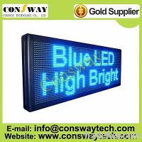 Sell CE approved led text display with blue color