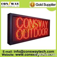 Sell CE approved running message text led display board with red color