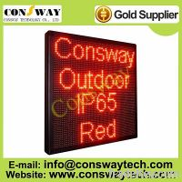 Sell CE approved programmable led moving message sign board with red color