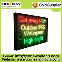 Sell CE approved programmable led panel with RGY color