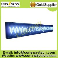 Sell CE approved led moving message display sign with white color