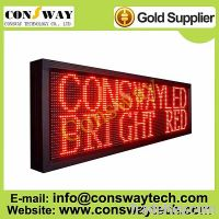 Sell CE approved led scrolling message sign with red color