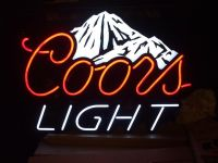 neon coors light beer sign for sale