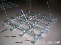 Steel Channel for gypsum ceiling& partation system