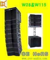 Sell line array speaker sound audio mini line array