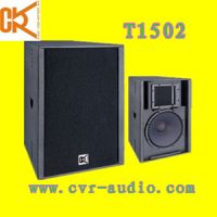 Sell professional plywood speakers club sound system T1502