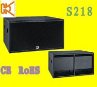 Sell high performance sub-bass system S218