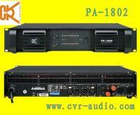 Sell professional audio visual sound lighting pro power amplierPA-1802