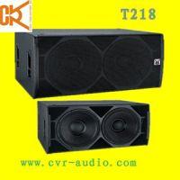 Sell PA subwoofer professional speaker dj equipment T218