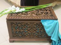 Carved Chest For sale
