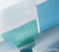 Sell hollow polycarbonate sheet with UV protection