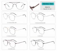round shape metal optical frames eyeglasses RB3274